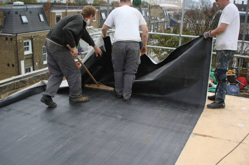 The Advantages Of Rubber Roofing Morgan Asphalte