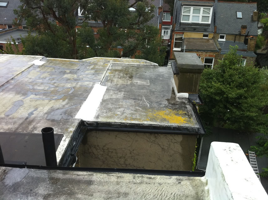 Fixing A Leaking Roof In St Mary S Grove Chiswick