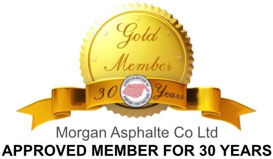 Morgan Asphalte - Approved member of the Confederation of Roofing Contractors for over 30 years