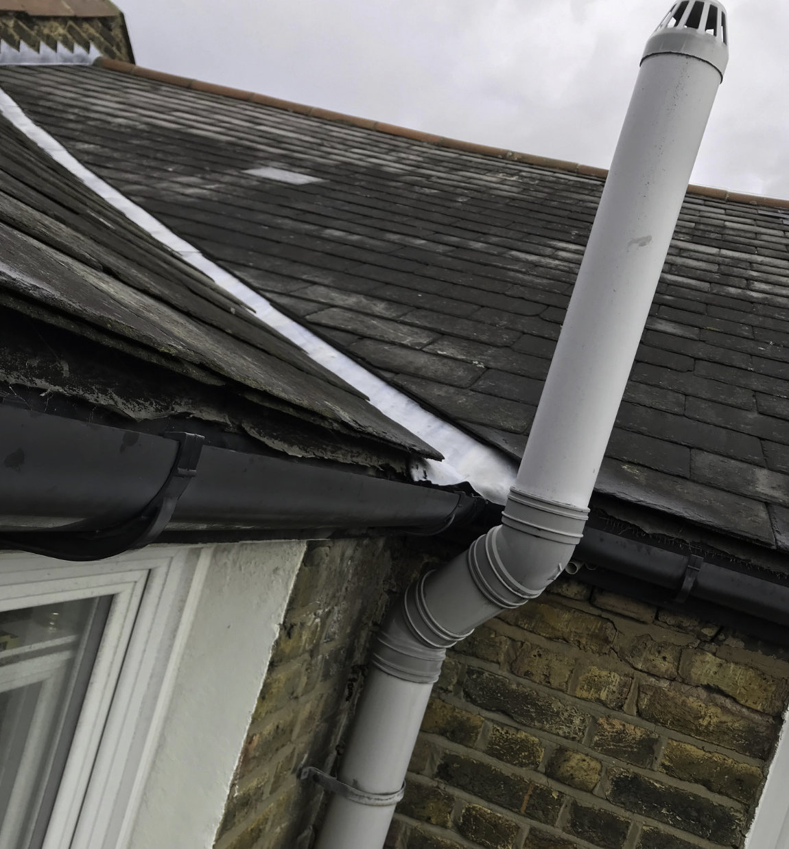 Replacing a Leaking Roof in Tooting SW17